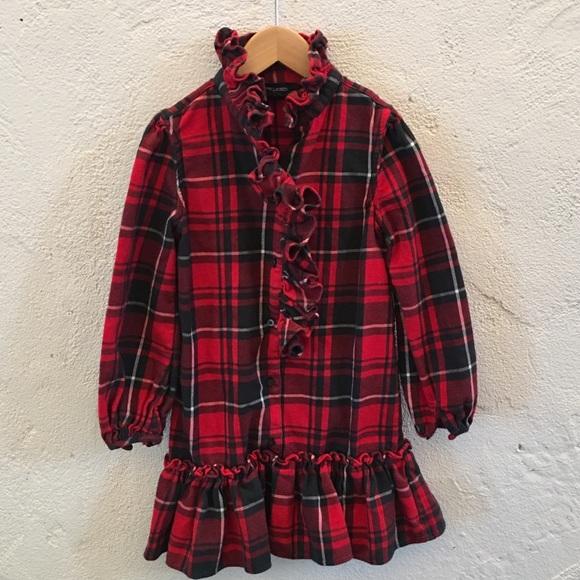 58062c641 Girls Ralph Lauren red plaid dress with ruffle 5. M_5aab155345b30c69ff47b5a9